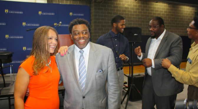 The Champ and Melissa Harris Perry Joins UNCG Social Work in Conference to address Father Son Conversations